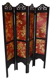 Aizslietnis MN A03, brūna/zelta/sarkana, 180 cm x 140 cm