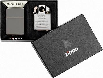 Зажигалка Zippo Lighter Black Ice