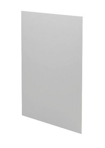 Halmar Cabinet Side Cover Panel Vento DZ-72/31 Light Grey