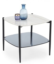 Halmar Coffee Table Gemini Marble/Black