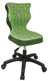 Bērnu krēsls Entelo ST29 Black/Green, 330x300x775 mm
