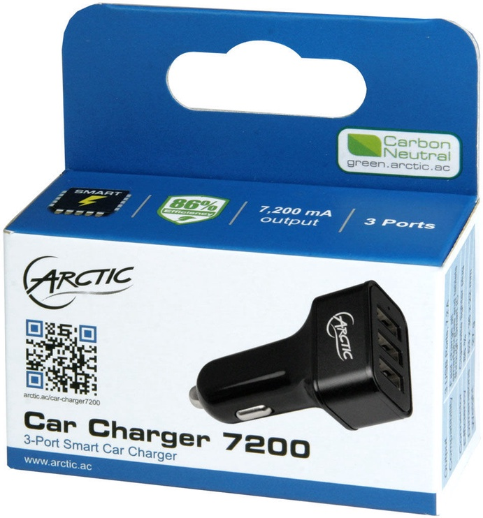 Arctic Car Charger 7200