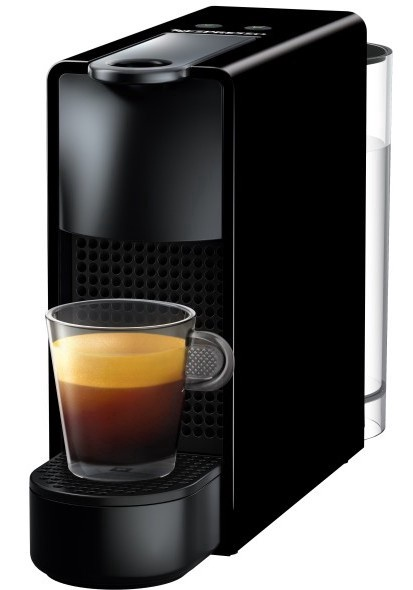Kapsulas kafijas automāts Nespresso Essenza Mini, melna