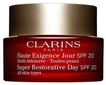 Sejas krēms Clarins Super Restorative Day Cream SPF20, 50 ml