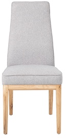 Ēdamistabas krēsls Home4you Preston Light Grey