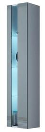 Cama Meble Vigo New Shelf Unit White/Grey Gloss