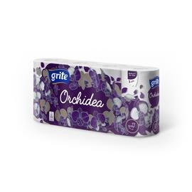Grite Orchidea Gold Toilet Paper 21.25m 8pcs White