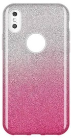 Wozinsky Glitter Shining Back Case For Samsung Galaxy A9 Pink