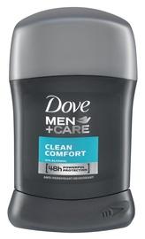 Vīriešu dezodorants Dove Men + Care Clean Comfort 48h Anti Perspirant Stick, 50 ml