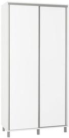 Skapis Bodzio White, 100x60x210 cm