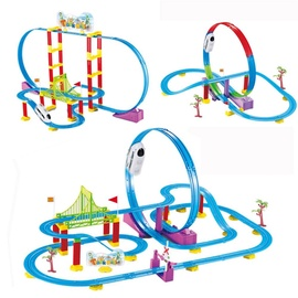 Rotaļu vilciens Track Racer Train Set 608021497