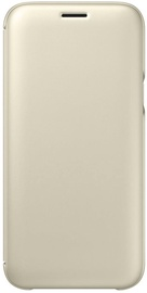 Samsung Flip Cover For Samsung Galaxy J5 J530 Gold