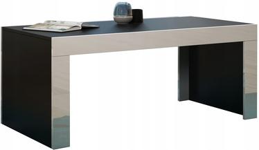Kafijas galdiņš Pro Meble Milano Black/White, 1200x600x500 mm