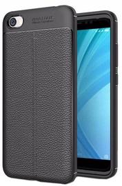 Apvalks Hurtel Litchi Pattern Back Case For Xiaomi Redmi 5A Black