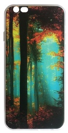 Mocco Trendy Forest Back Case For Samsung Galaxy J7 J730 Green