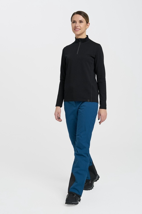 Audimas Merino Wool Mix Jumper Black XS