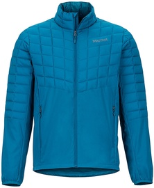 Marmot Mens Featherless Hybrid Jacket Maroccan Blue L