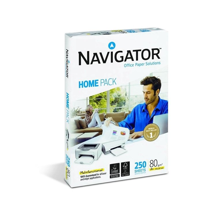 Igepa Navigator Home Pack A4 80g/m2 250 Pages
