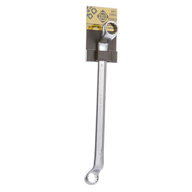 Ключ накидной Forte Tools DIN838, 413-1010, 14x15 mm