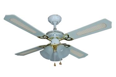 Lampa ar ventilatoru NS42-WP-R4C3BEA, E14, 3x60W