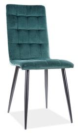 Ēdamistabas krēsls Signal Meble Modern Otto Velvet, zaļa