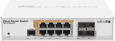 Tīkla centrmezgls MikroTik CRS112-8P-4S-IN 8-port