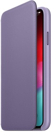 Apple Leather Folio Case For Apple iPhone XS Max Lilac