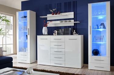ASM Galino D Wall Unit White/White Gloss