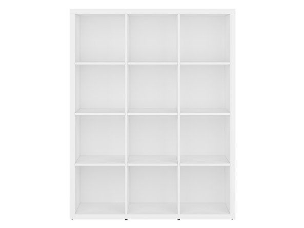 Black Red White Shelf Nepo REG/15/12 White
