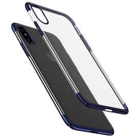Baseus Wing Case For Apple iPhone X Transparent/Blue
