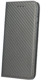 Mocco Smart Carbon Book Case For Huawei P9 Lite 2017 Gray