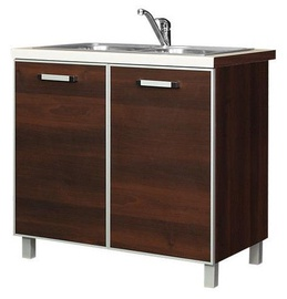 Bodzio Ola Kitchen Bottom Cabinet Under The Sink 90 Nut