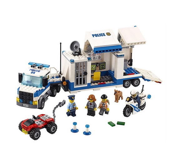 Konstruktors Lego City Mobile Command Center 60139