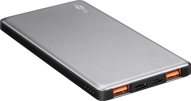 Goobay Qualcomm Power Bank 5000mAh Grey/Black