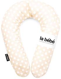 Grūtnieču spilvens La bebe Snug Cotton Dots, bēša