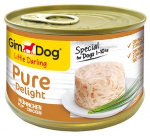 Gimborn Gimdog Food Little Darling Pure Delight w/ Chicken In Jelly 150g