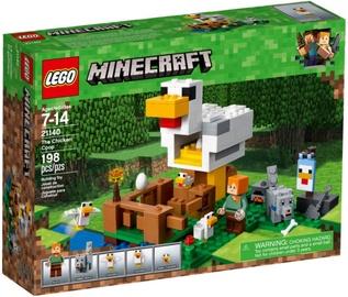 Konstruktors LEGO®Minecraft 21140 Vistu māja