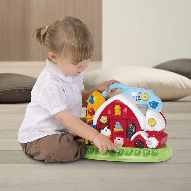 Interaktīva rotaļlieta Chicco Talking Farm, EN/IT