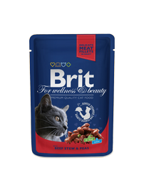 BRIT PREMIUM BEEF STEW&PEAS