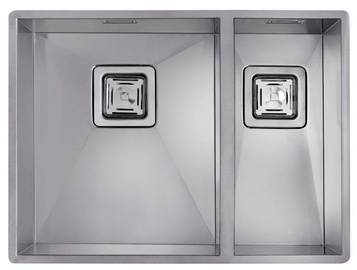 Teka Square 340/400 180/400 Sink Stainless Steel