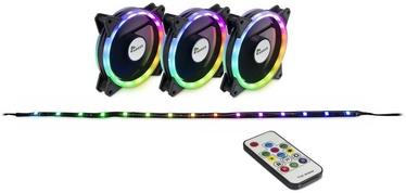 Gaisa dzesētājs korpuss Inter-Tech Argus RS-04 RGB