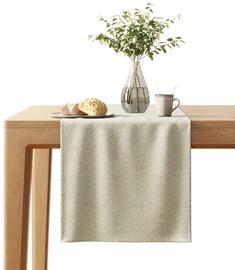 AmeliaHome Blackout Lamari Tablecloth 40x140cm Cream