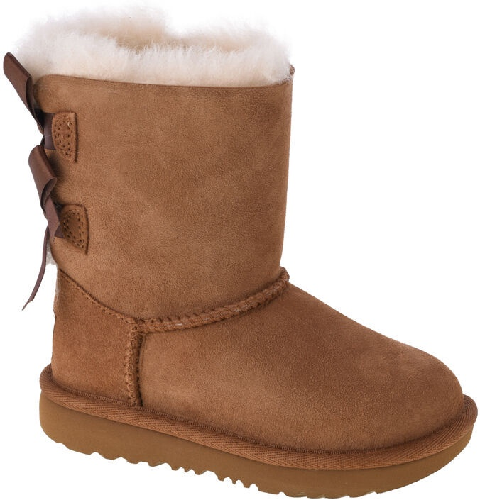 Kurpes UGG Kids Bailey Bow II Boot 1017394T-CHE Chestnut 27.5