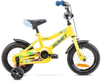 Bērnu velosipēds Romet Tom 12 7S Yellow/Blue