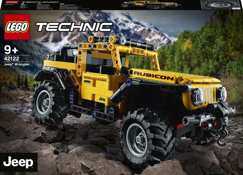Конструктор LEGO Technic Jeep® Wrangler 42122, 665 шт.