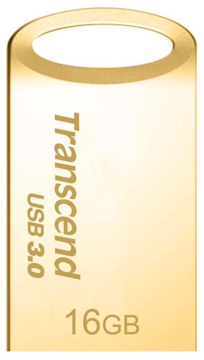 USB флеш-накопитель Transcend JetFlash 710 Gold, USB 3.0, 16 GB