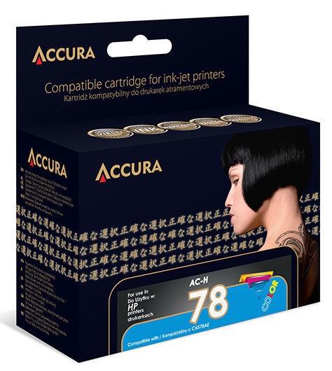 Accura Ink Cartridge HP No.78 40ml Color