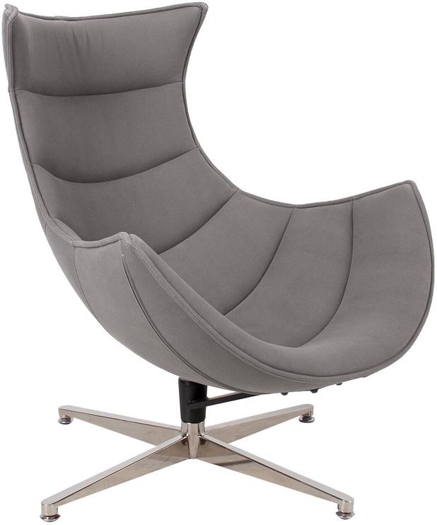 Atzveltnes krēsls Home4you Grand Extra 39037, pelēka, 86x84x96 cm