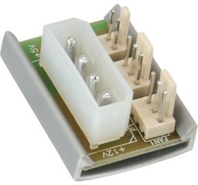 InLine PC Fan Multi Power Port Adapter 4Pin Molex