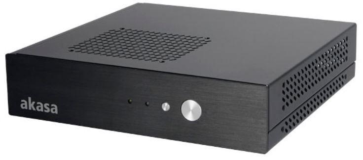 Akasa Cypher Thin-Mini-ITX Tower Black
